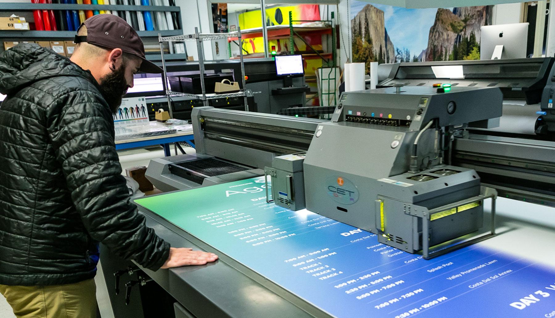 Large Format UV Printer